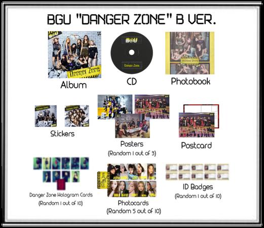 "BGU ""Danger Zone"" B Ver. Album Release"