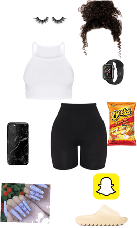 hot Cheeto Girl summer outfit
