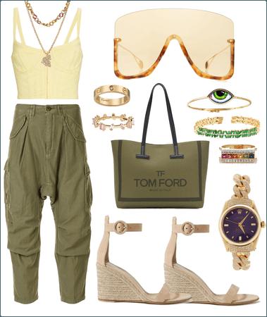 Fashion street💚💛💚