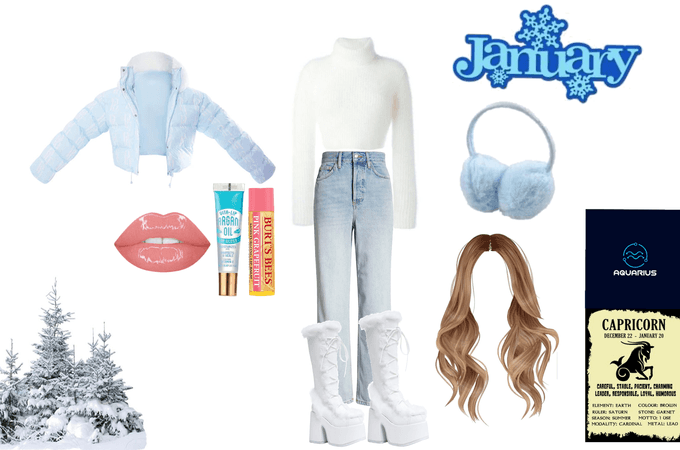 January outfit -for you birthday month outfit challenge-