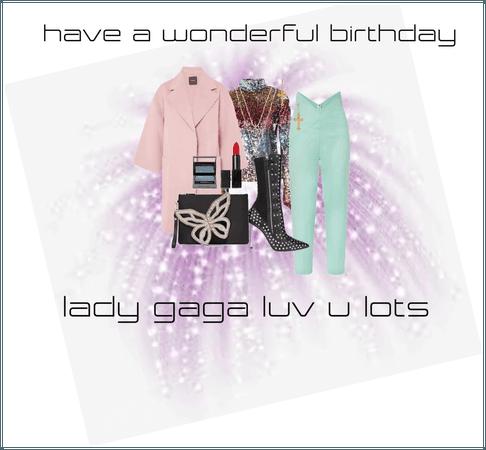lady gaga's birthday wish