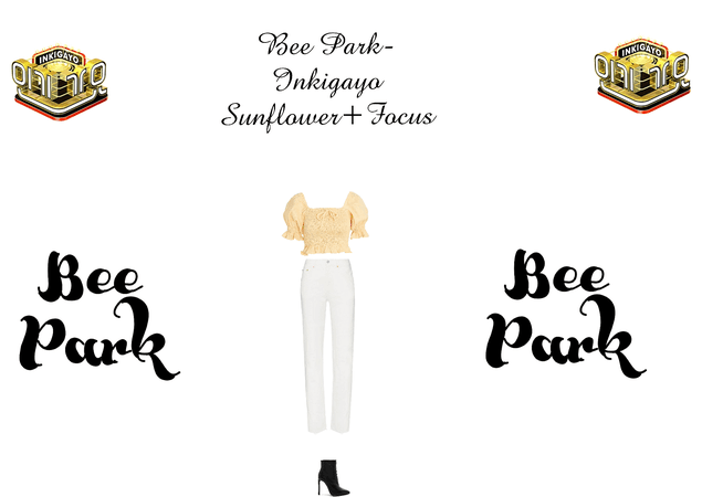 Bee-Inkigayo sunflower+focus