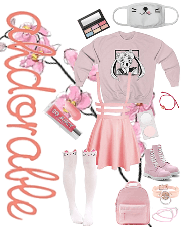 UwU Aesthetic pink outfit