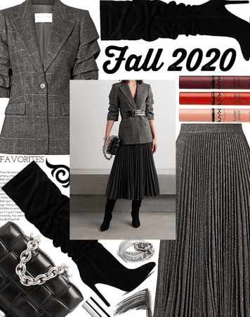 FALL 2020: Charcoal Chic