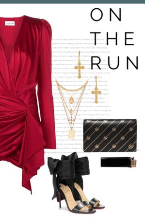 In the run