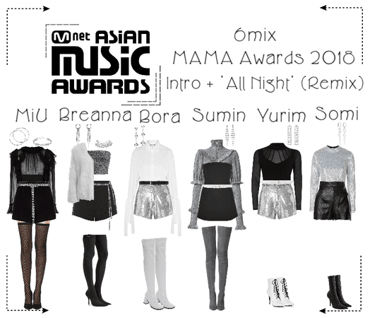 《6mix》Mnet Asia Music Awards Performance