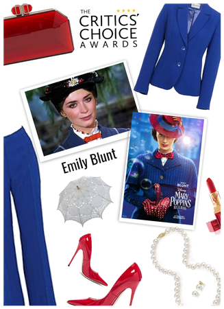 Critics choice/Emily Blunt-mary poppins return