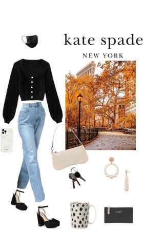 New York street style : Kate spade inspired