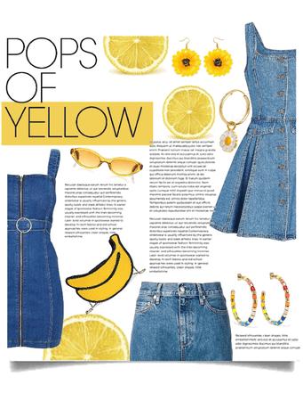 Denim & Yellow