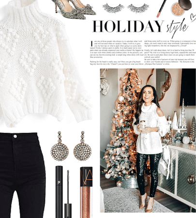 holiday turtleneck sweater