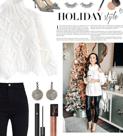holiday turtleneck sweater