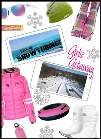 Girls getaway/ski resort/snowtubing