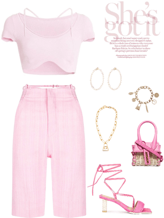 Jacquemus Pink Outfit