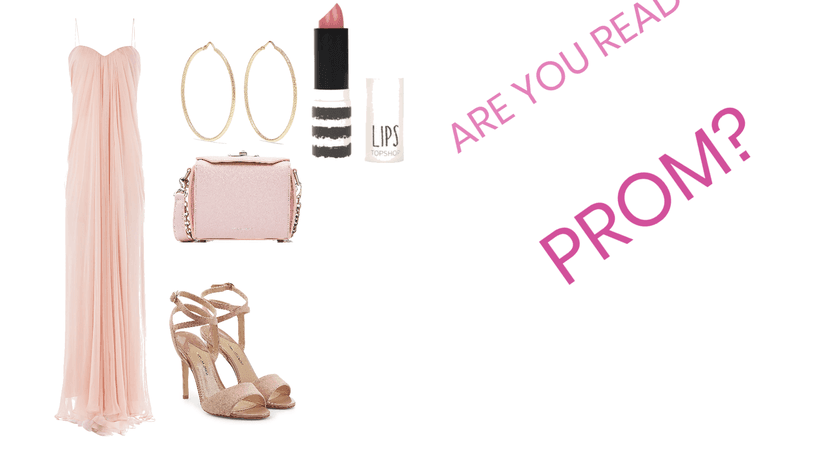 PINK PROM LOOK