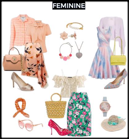 feminine outfit