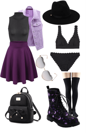 purple witchy vibes💜
