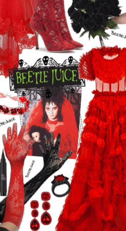 Beetle Juice Wedding
