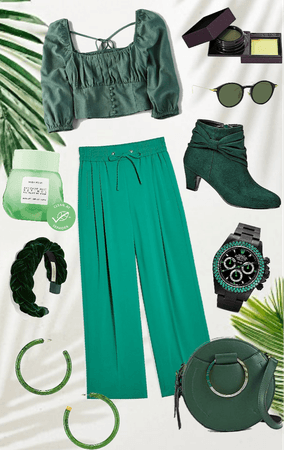 rainbow series - green