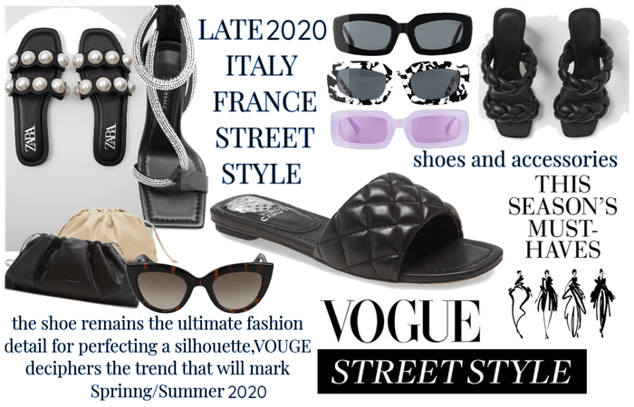 FRANCE&ITALY STREET STYLE VOGUE TRENDS