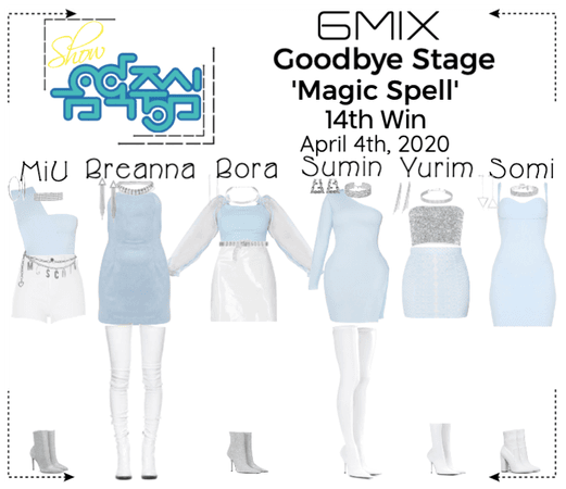 《6mix》Show! Music Core Goodbye Stage 'Magic Spell'