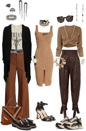CR Closet— Brown is Warm and Lovely