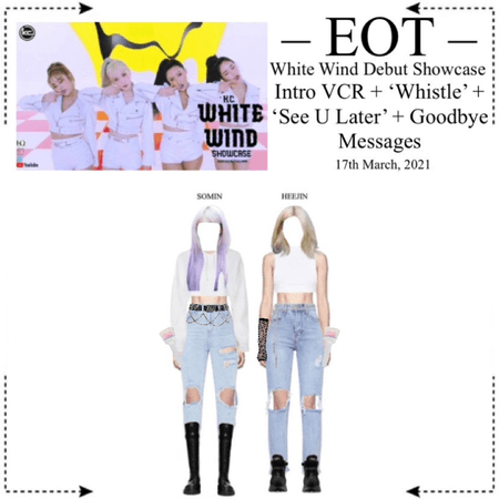 EOT (내일의황후) K.C. White Wind Debut Showcase 3