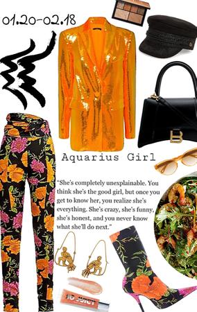 Aquarius ♒️ girl