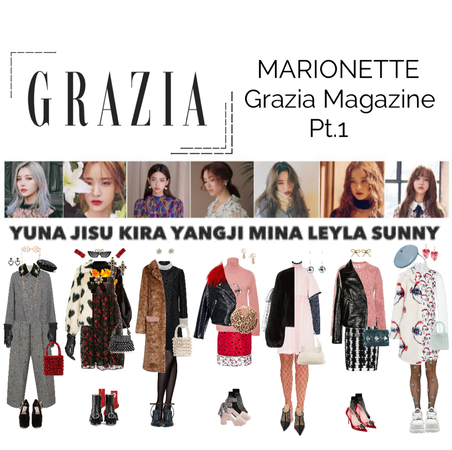 {MARIONETTE} Grazia Magazine Photoshoot Pt.1