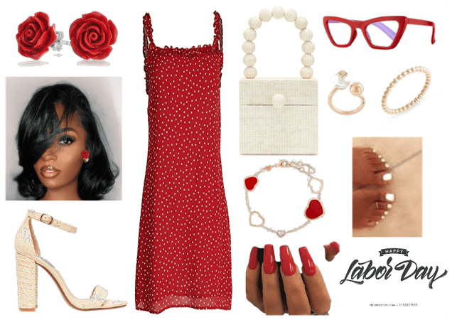 A glam look with a vintage touch for the laborday!