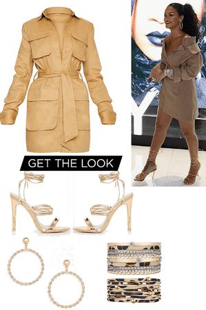 Rhianna - get the look