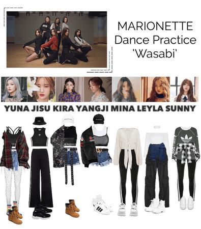 {MARIONETTE} 'Wasabi' Dance Practice