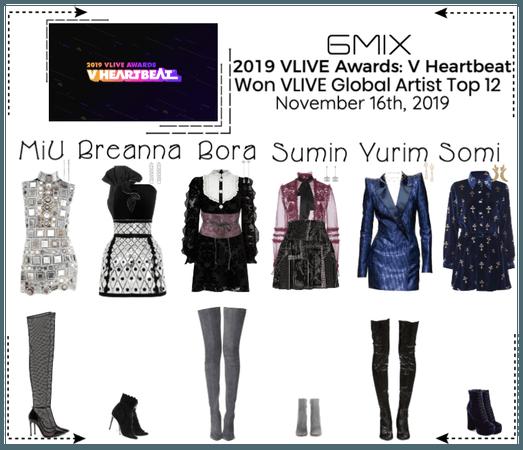 《6mix》2019 VLIVE Awards: V Heartbeat