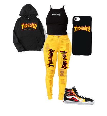 Thrasher outfit