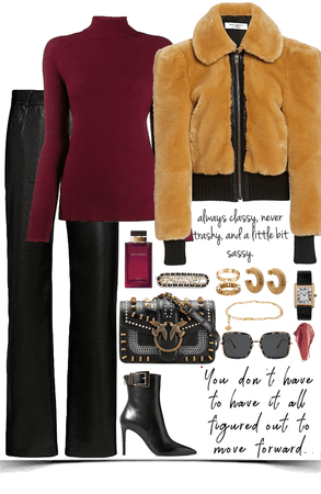 luxury,elegance winter look