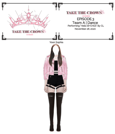 """Take The Crown"" Ep.3 [Team A] [Dance] Yoon Sophia"