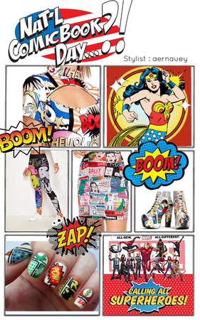 Nat-l comic book day 👸🏻