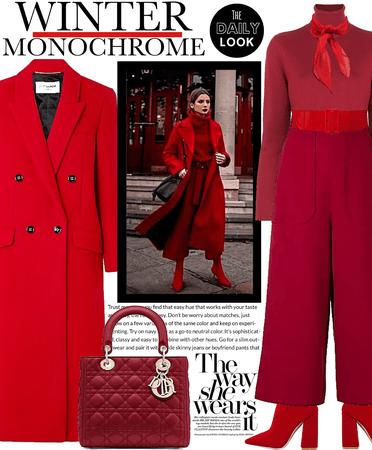 Winter Monochrome - Red ❤️🟥🔴