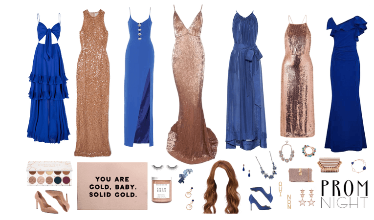 Gold and Blue Prom 2019