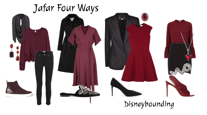 Jafar Four Ways | Disneybound