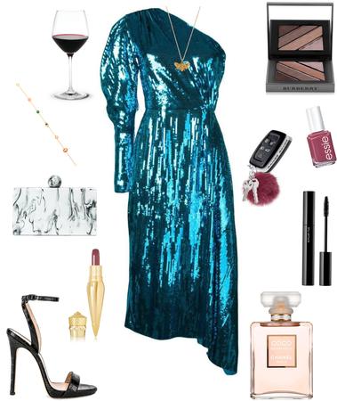 My Blue Dress