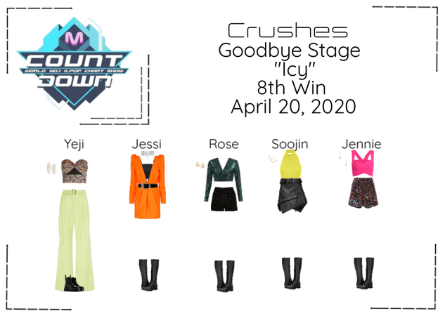 """Crushes (호감) """"쌀쌀한 (Icy)"""" Goodbye Stage 8th Win"""