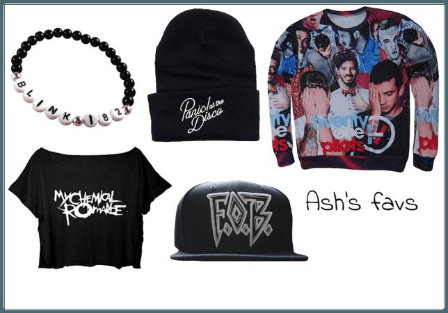 ash's fav bands