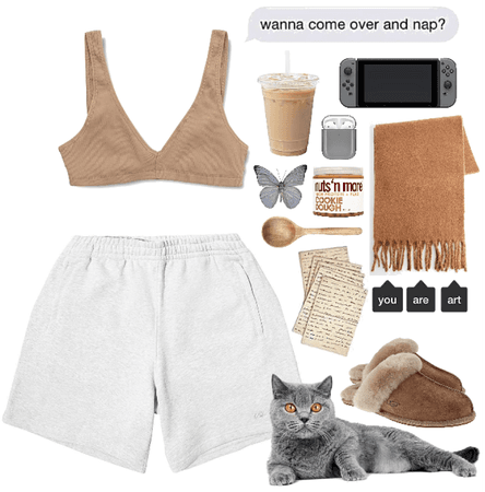 camel n' heather grey
