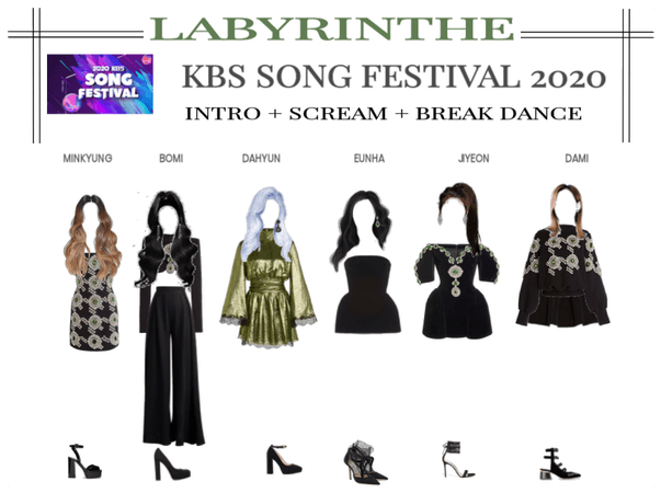 LABYRINTHE kbs song festival 2020 1st stage