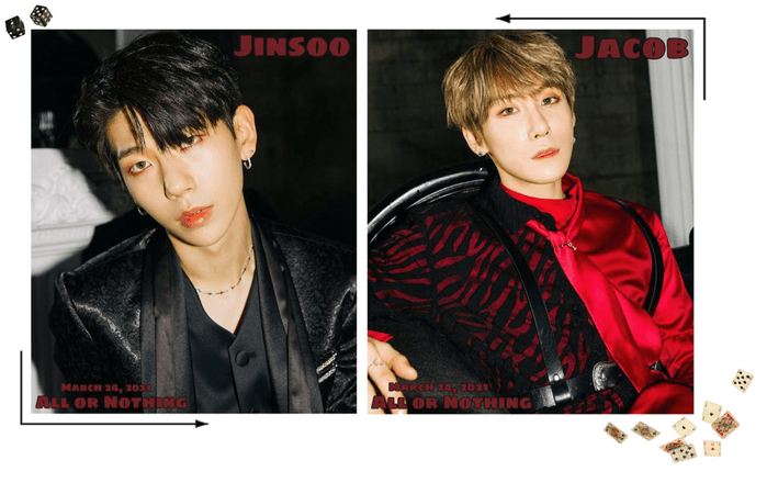 Zus//'All or Nothing' Jinsoo & Jacob Teaser Photos #1