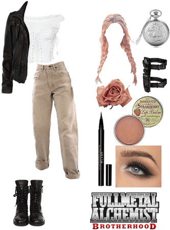 What I'd wear in an anime: FMAB
