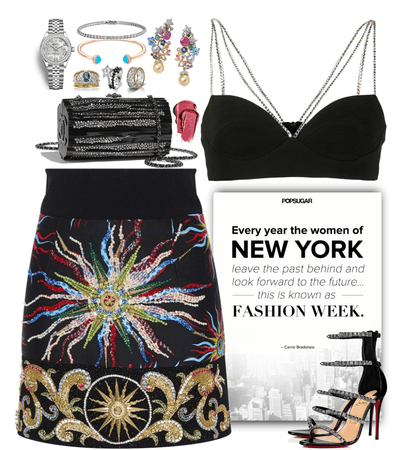 stunning outfit for NY fashion week