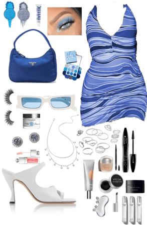 Blue dress Challenge 👗👗👗
