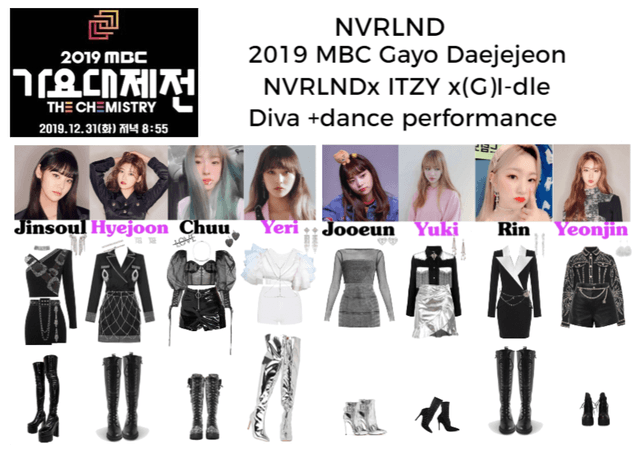 NVRLND 2019 MBC Gayo Daejejeon Diva+dance perf...