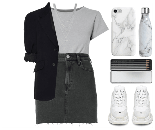 Grey&Black&White